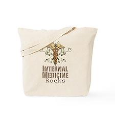 Internal Medicine Rocks Tote Bag