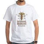 Internal Medicine Rocks White T-Shirt
