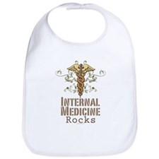 Internal Medicine Rocks Bib