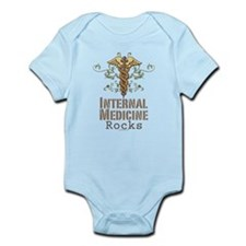 Internal Medicine Rocks Infant Bodysuit