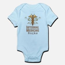 Internal Medicine Rocks Infant Bodysuit