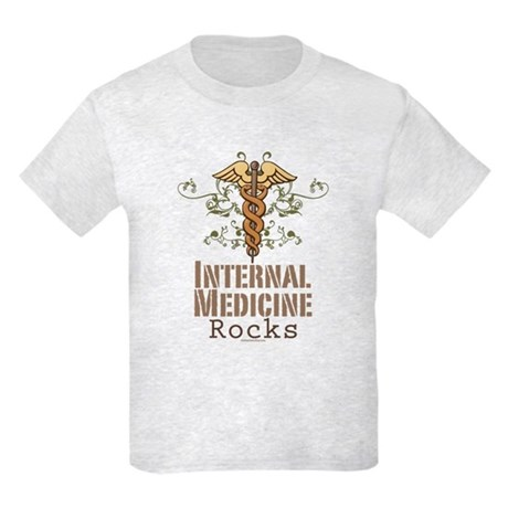 Internal Medicine Rocks Kids Light T-Shirt