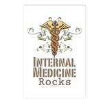 Internal Medicine Rocks Postcards (Package of 8)