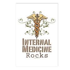 Internal Medicine Rocks Postcards (Package of 8)