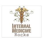 Internal Medicine Rocks Small Poster
