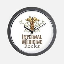 Internal Medicine Rocks Wall Clock
