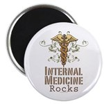 Internal Medicine Rocks Magnet