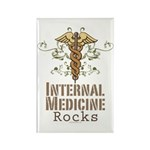 Internal Medicine Rocks Rectangle Magnet (10 pack)
