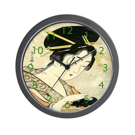 Midoriki Wall Clock