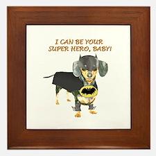 Your Super Hero Framed Tile