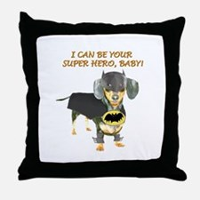 Your Super Hero Throw Pillow