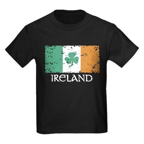 Ireland Flag Kids Dark T-Shirt