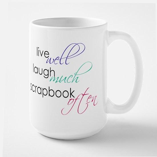 Live Laugh Scrap - Mug