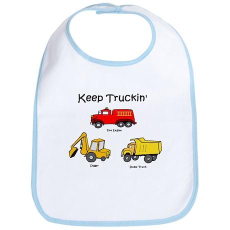 keep truckin' Bib
