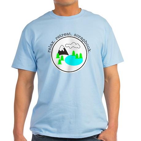 retreat. relax. scrapbook. - T-Shirt