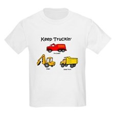 keep truckin' Kids T-Shirt
