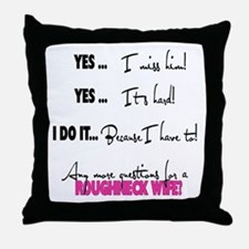 Because I have to Throw Pillow