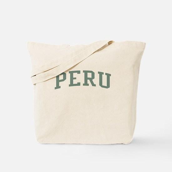 Peru Green Tote Bag