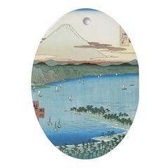 Still Waters Oval Ornament