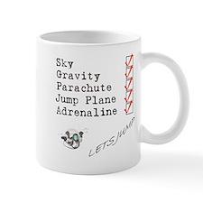skydive check list Mugs