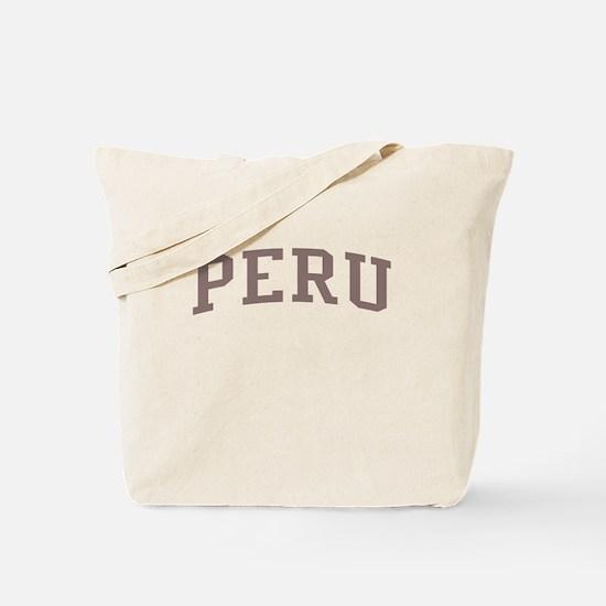 Peru Red Tote Bag