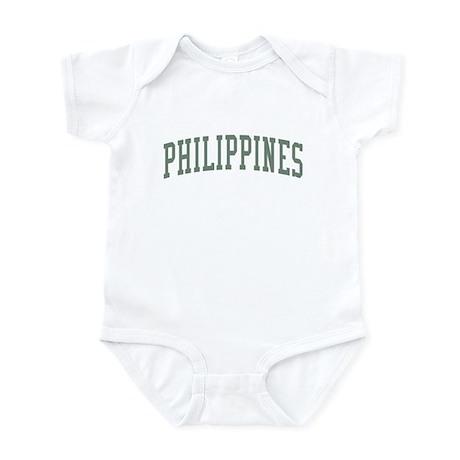 Philippines Green Infant Bodysuit