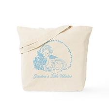 Grandma's Little Boy Valentine Tote Bag