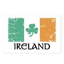 Ireland Flag Postcards (Package of 8)