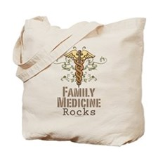 Family Medicine Rocks Tote Bag