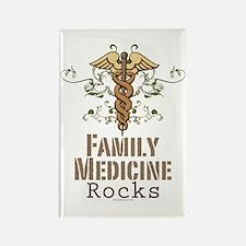 Family Medicine Rocks Rectangle Magnet