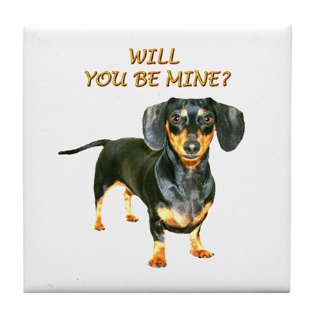 Be Mine Tile Coaster