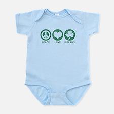 Peace Love Ireland Infant Bodysuit