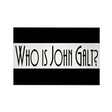 Who Is John Galt? Rectangle Magnet