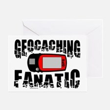 Geocaching Fanatic Greeting Card