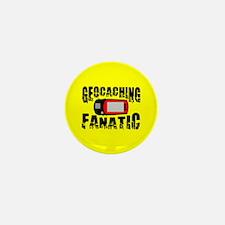 Geocaching Fanatic Mini Button (10 pack)
