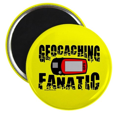"Geocaching Fanatic 2.25"" Magnet (100 pack)"