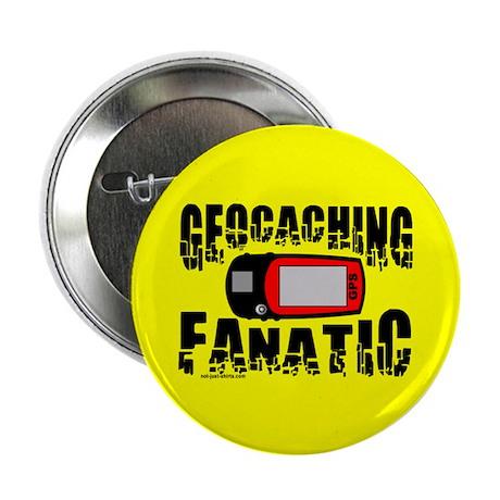 """Geocaching Fanatic 2.25"""" Button"""