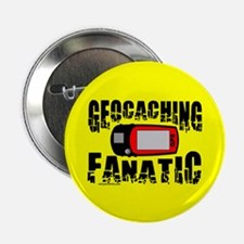 "Geocaching Fanatic 2.25"" Button"