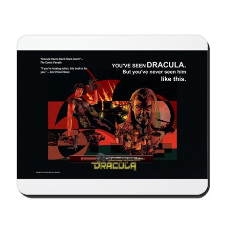 Sword of Dracula Mousepad