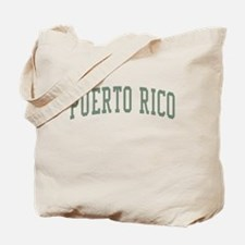 Puerto Rico Green Tote Bag