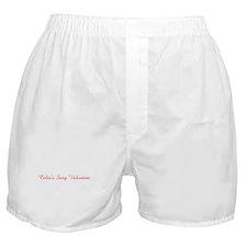 Celia's Sexy Valentine Boxer Shorts
