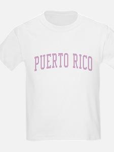 Puerto Rico Pink T-Shirt
