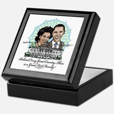 Obama First Family Keepsake Box