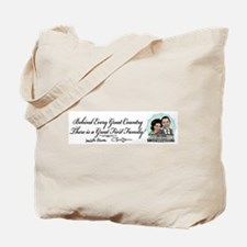 Obama First Family Tote Bag