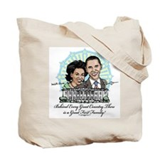 Barack Michelle Obama Tote Bag