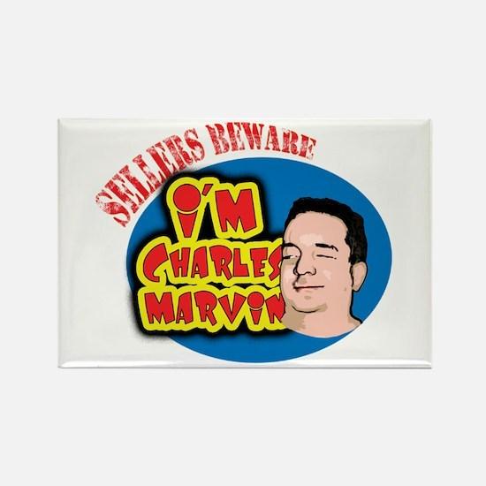 Charles Marvin Rectangle Magnet