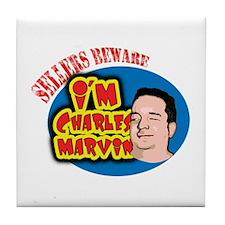 Charles Marvin Tile Coaster