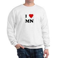 I Love MN Sweatshirt