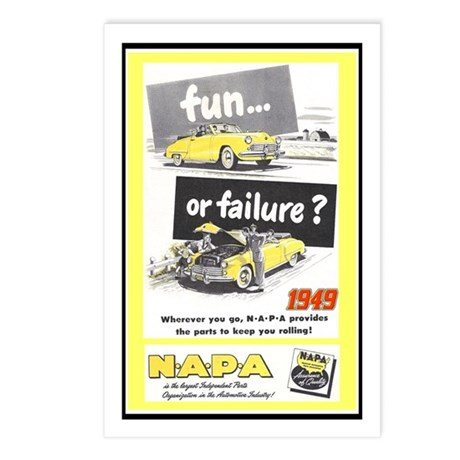"""""""1949 NAPA Ad"""" Postcards (Package of 8)"""