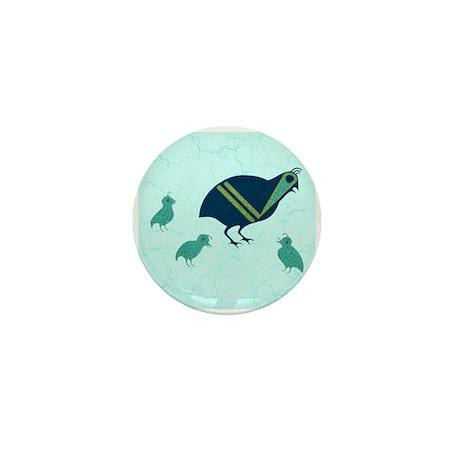Quail Family Mini Button (100 pack)